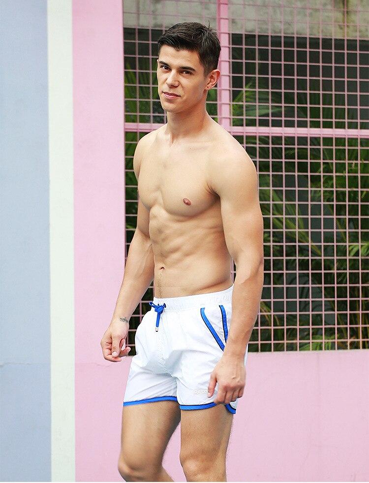 Swimwear Mens Shorts Natação Tronco de Natação