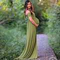 Maternity Photography Props Maternity Dresses for Photo Shoot Vestidos Infantil Gown Pregnant Clothing Women Dress Evening GH381