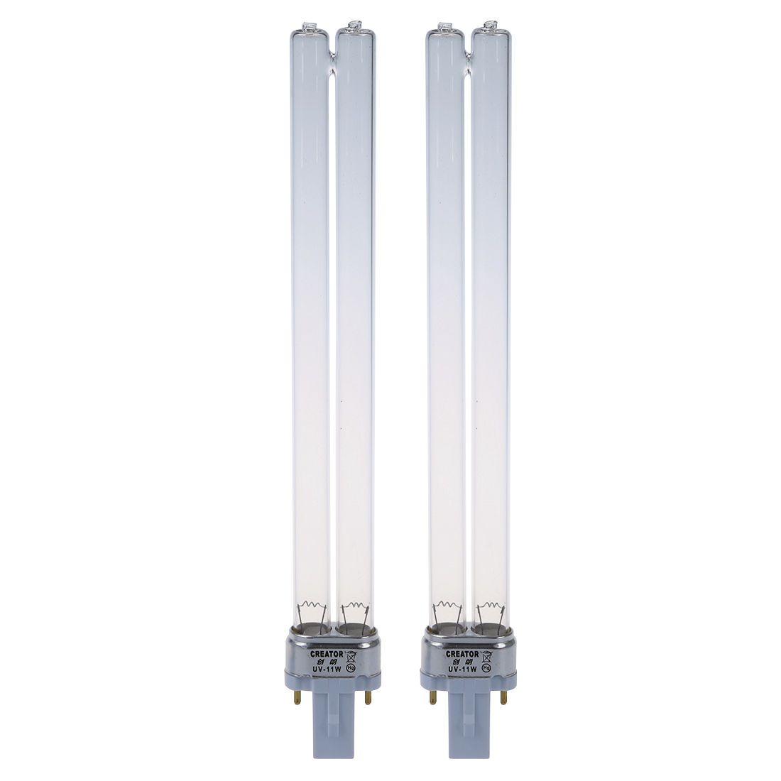 Cheapest 2pcs 11W Base Of G23 Bulb Light UV Sterilizer UV Lamp For Aquarium