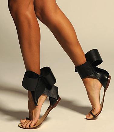 Women Sandals Sexy Fashion New Big Bow Tie Women Shoes Zapatos Mujer Casual Women Flats Brand Designer Gladiator Shoes Women