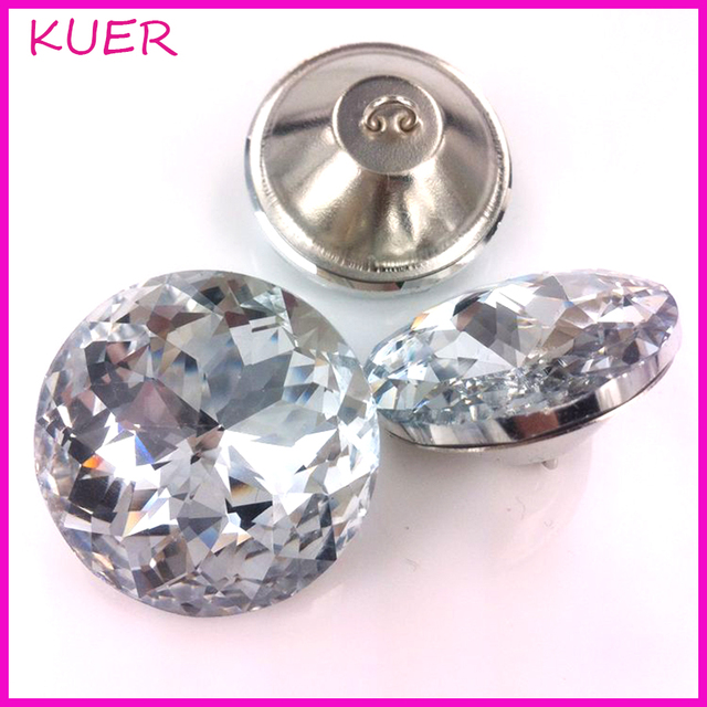 20/25/30/45mm Brillante Patrón de Diamante de Cristal Sofá Tornillo ...