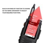 vhf uhf המסך צבעוני מכשיר קשר רדיו Comunicador המקצועי משדר 5W CP-UV2000 VHF / UHF Tri-Band 136-174 / 200-260 / 400-520 MHz (5)
