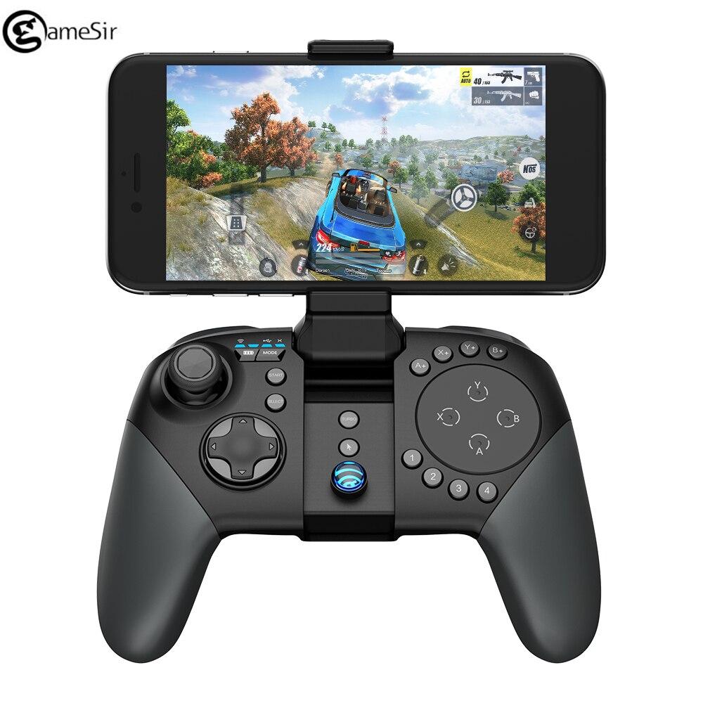 Trackpad GameSir G5 et boutons de feu personnalisables, Moba/FPS/PUBG/RoS contrôleur de jeu sans fil Bluetooth manette de jeu Android