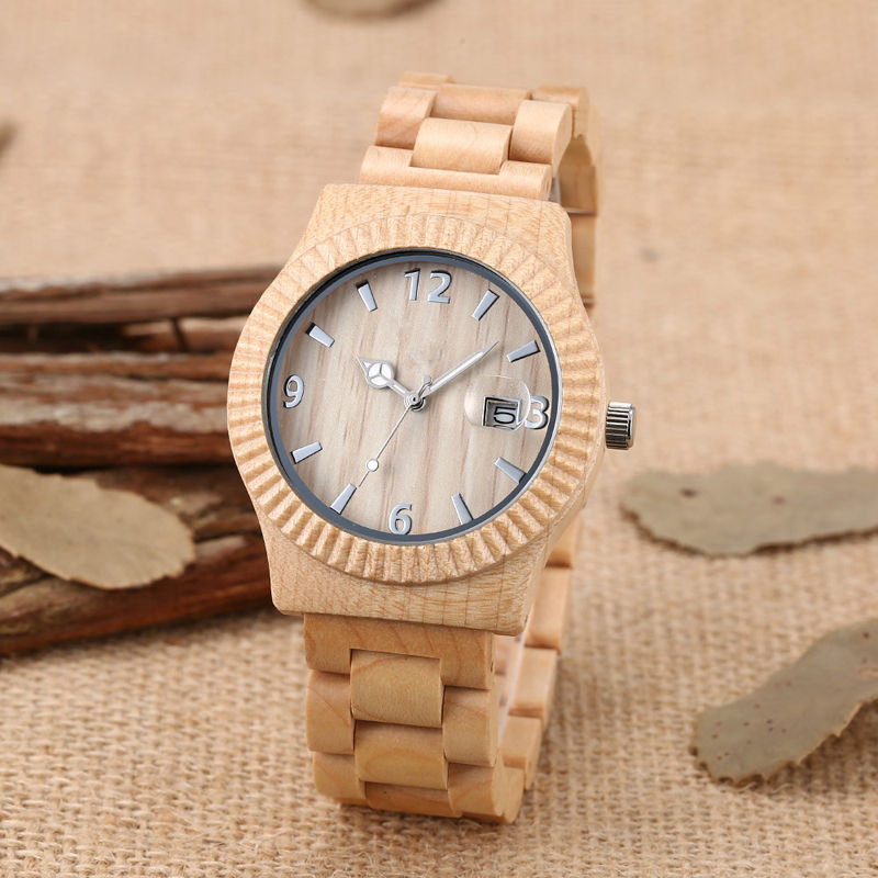 SIHAIXIN Engraved Sandalwood Watches De Wooden Strap Bracelet Handcrafted Unique Classic Men Japan Quartz Male Clock Gift Box цена