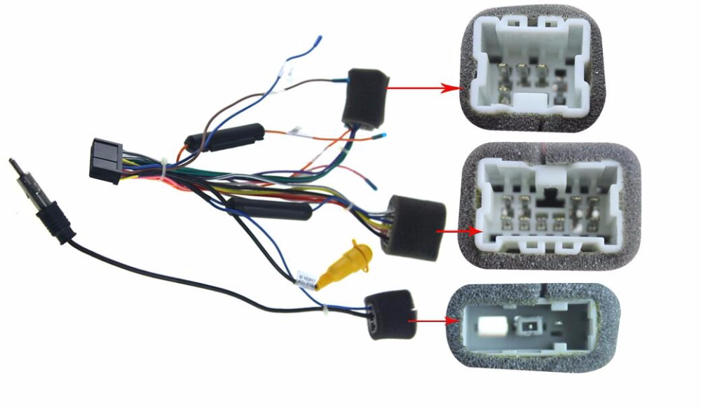 Wire Harness Connectors Car Stereo Wiring Harness Adapter For Car