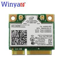 Новый Intel Dual Band Wireless-AC 7260 ac7260 7260HMW 7260AC 802.11ac MINI PCI-E 2.4 Г/5 Г Dual Band 2×2 WiFi Карты + Bluetooth 4.0