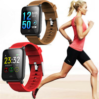 Q9 Waterproof IP67 Long Standby Sports Smart Watch Blood Pressure HeartRate Fitness Tracker for Android and iPhone