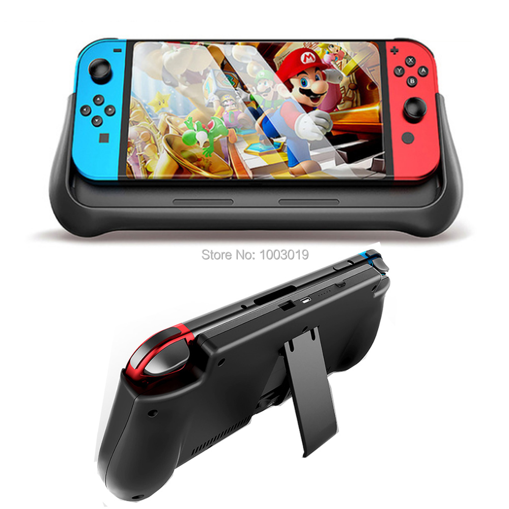 10000mAh Battery Case Power Bank For Nintendo Switch Console With Holder Fast Charger External Battery For