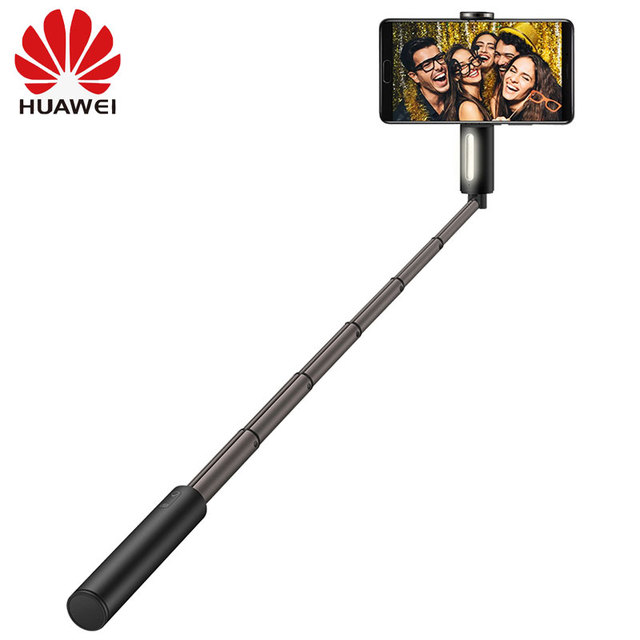 Originele Huawei Honor Selfie Stok CF33 Draagbare Bluetooth Vullen Licht 3 Gear Helderheid Monopod Uitschuifbare Stok