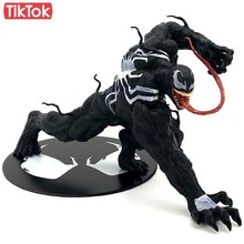 Filme Venom Spiderman Dos Desenhos Animados Toy PVC Action Figure Modelo Boneca de Presente(China)