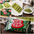 5 pequeña bolsa japonesa chocolate kit kat. sabores para elegir apple pie, calabaza, chocolate negro, leche, té verde, queso. queso a la parrilla.
