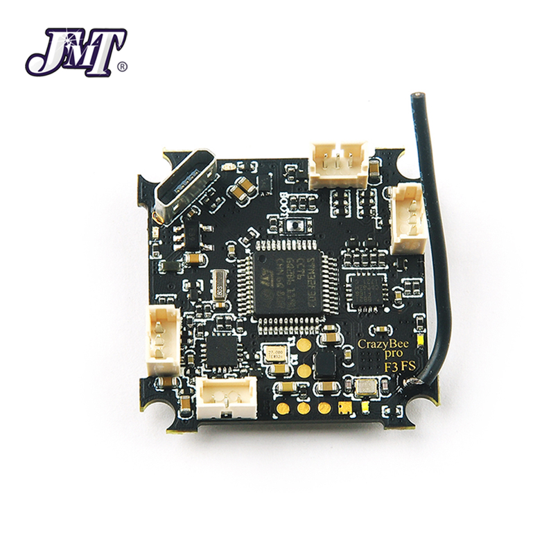 JMT Crazybee F3 Pro Flight Controller Mobula7 5A 1-2S Compatible Flysky / Frsky DSM-X Receiver For 2S Brushless Tiny Bwhoop