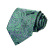 """TZP13G8 Verde Azul Paisley 3.4 """"Los Hombres de Seda Corbata del lazo Pocket Square Pañuelo Gemelos Set Wedding Party Classic Corbata"""