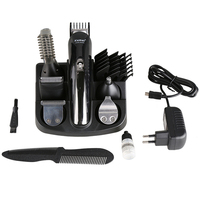 Beard Trimmer Hair Clipper Professional Mens Grooming Shaving Set Split End Shaping Tool Comb Hair Removal