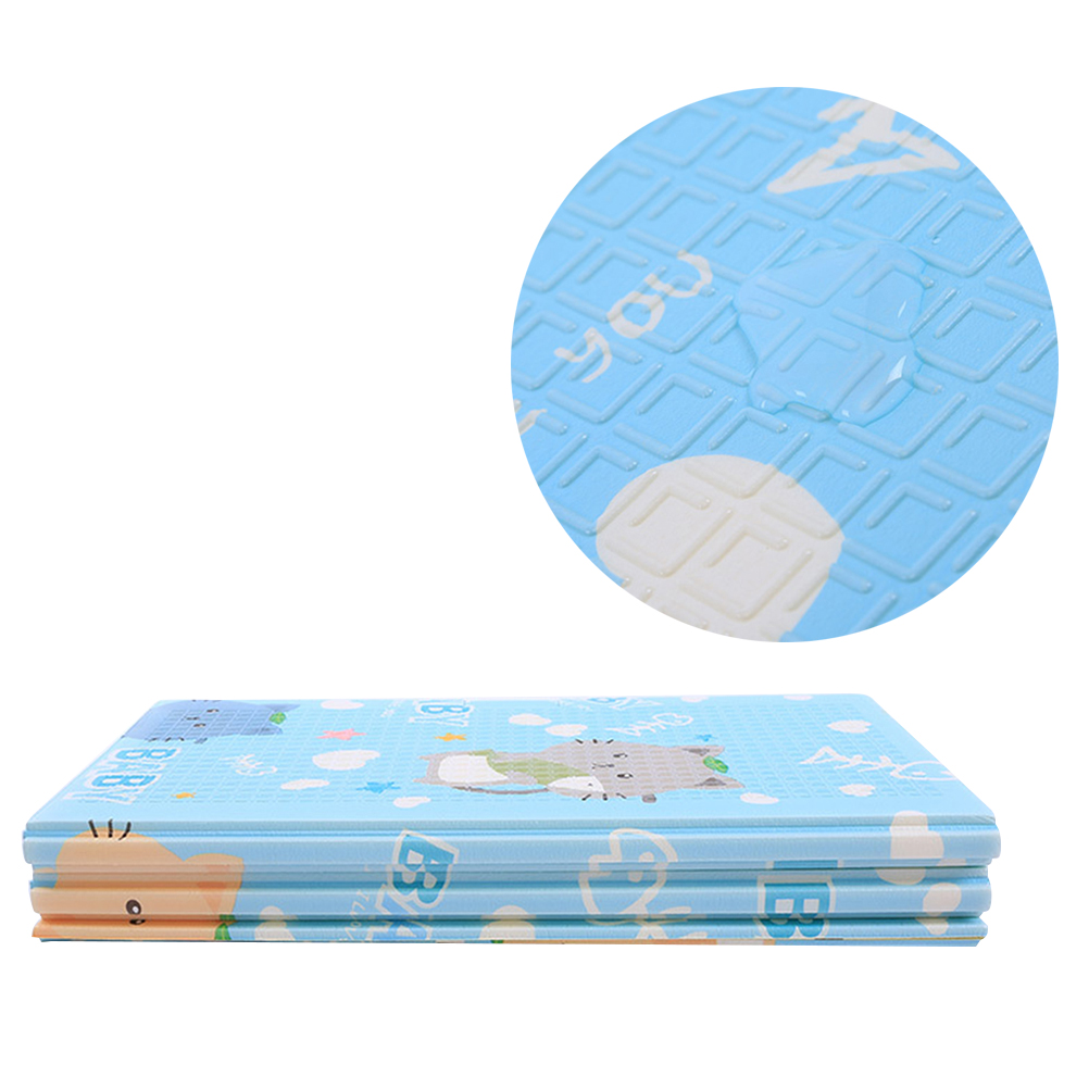 1 Pc 147 x 197cm Joint Splicing Playmat EVA Play Mat Floor Carpet Fitness Pad for Exercise