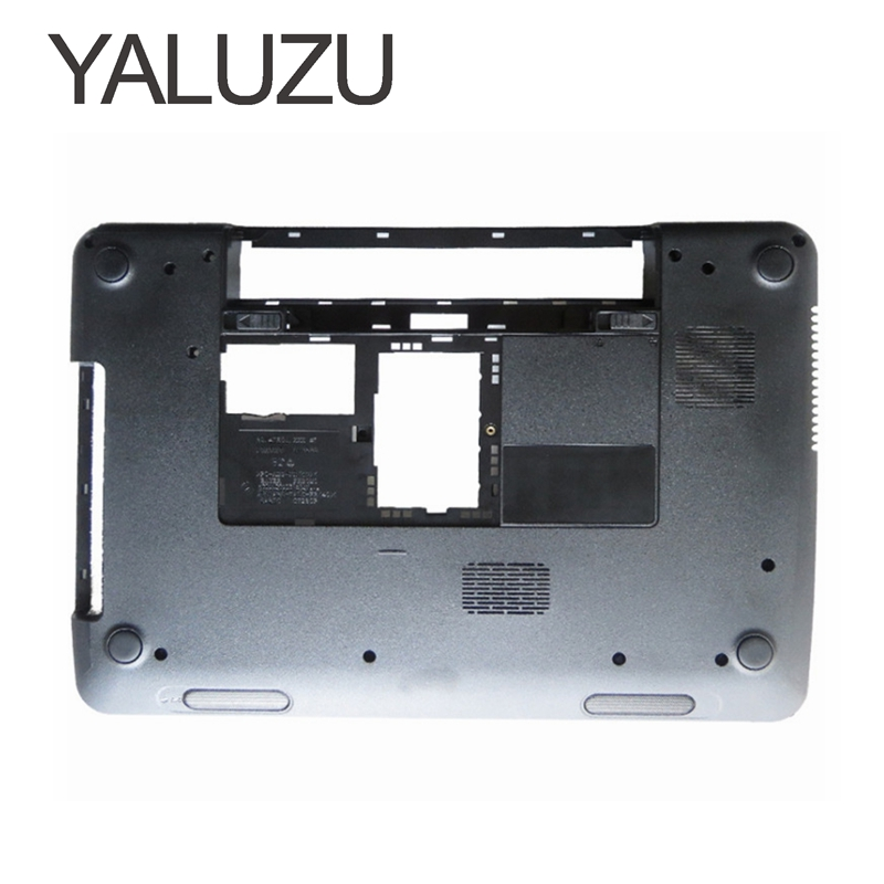 YALUZU New For DELL Inspiron 15R N5110 M5110 Bottom Base Cover Case lower case PN: 005T5 39D-00ZD-A00 15R 100% new jintai dc power jack port vga usb board for dell inspiron 15r n5110 vostro v3550 pfyc8