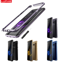 For Samsung Galaxy S8 Plus Bumper Case 6 2inch Metal Frame Protection Cover Cool Orchid Color