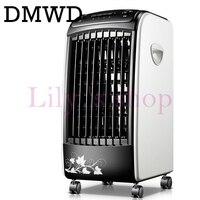 DMWD Manual de control Remoto de Aire Acondicionado Ventilador de refrigeración Del Ventilador humidificador eléctrico Portátil Acondicionado ventiladores de refrigeración refrigerado por agua