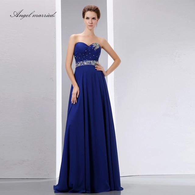 Vestidos de fiesta en color azul marino