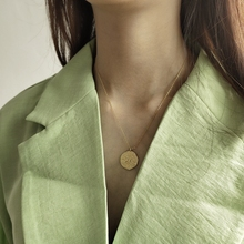 Louleur 925 prata esterlina estrela lua pingente colar irregular clavicular corrente cor de ouro colar feminino nova moda jóias