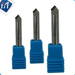PCD akrylowe narzędzie do fazowania stopu aluminium grawerowanie diamentowe narzędzie PKD frez do obiektyw telefonu komórkowego mosiężne tworzywa sztuczne