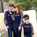 Sudadera moda ropa ropa de la familia madre e hija padre hijo ropa a juego de la familia ropa a juego WL95