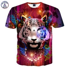 Mr.1991INC New Fashion Men/Women T-shirt 3d Print Dreamy Tiger Designed Stylish Summer T shirt Brand Tops Tees