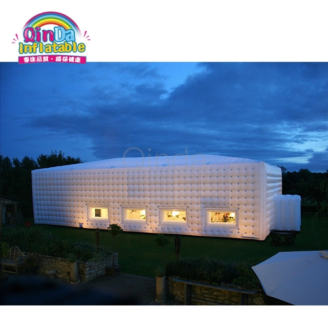 Professional Custom Large Inflatable Party Tent, Inflatable Cube Camping Tent