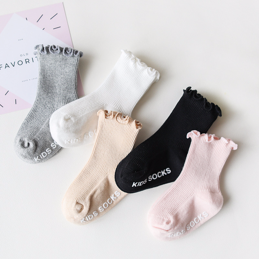 0 2 Year Old Girl Children Cotton Socks Autumn and Winter Baby Socks No Bone Point Glue Anti skid Baby Newborn Socks in Socks from Mother Kids