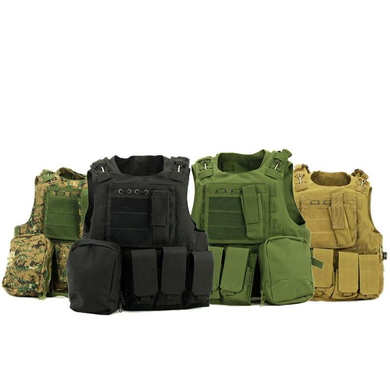 ציד חדש צבאית Airsoft MOLLE ניילון קרב פיינטבול טקטית Vest מוצרים בחוץ משלוח חינם