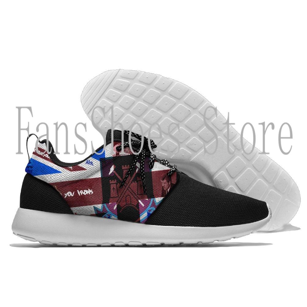 Hommes et femmes de Course Espadrille Léger Marche West Ham United Sport en plein air Chaussures Respirant Maille