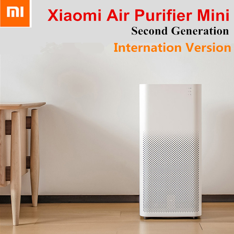 Xiaomi Mijia Air Purifier Mini 2 Generation Home Smart Air Purifiers Sterilizer Air Cleaner Household 3-Layer Hepa Filter MI APP boruit xml l2 led headlight lantern 4 modes usb power bank headlamp for fishing hunting use 18650 battery torch lanterna rj 5001