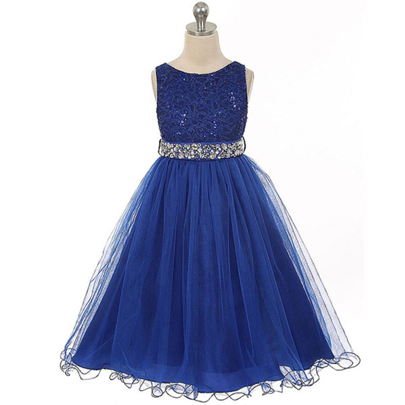Lace flower girls dresses for party and wedding short for Elegant wedding party dresses