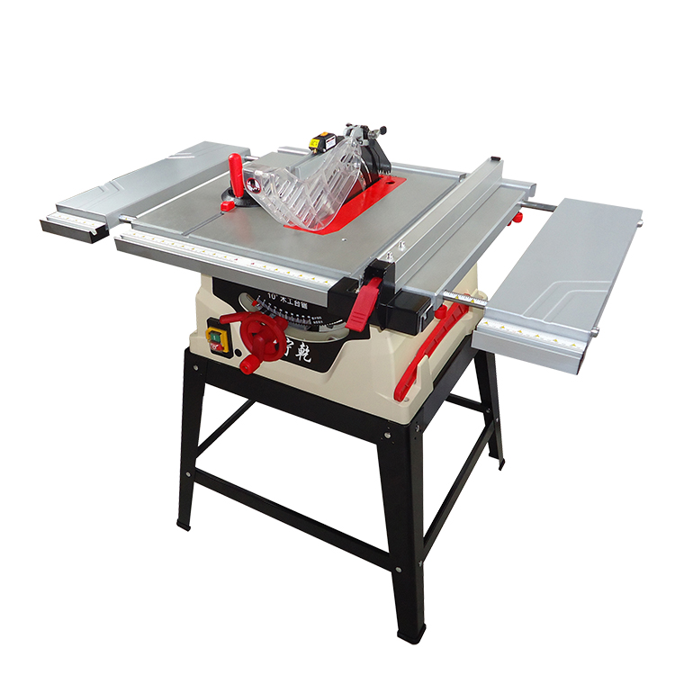 10 Woodworking Table Saw 1800w Wood Saw 254mm Electric Circular Saw 1330mm Extend Workbench In