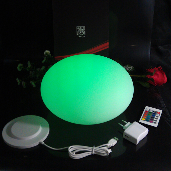 D20*H14cm Waterproof plastic colors changing led half round ball Floating Mirror Ball for Christmas Decoration Free Shipping 1pc waterproof ip65 led ball 15 15 15cm water floating pool lighting ball for christmas decoration free shipping