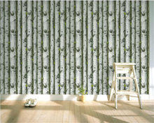 beibehang Nordic forest trees wall paper TV background bed sofa PVC engineering papel de parede wallpaper