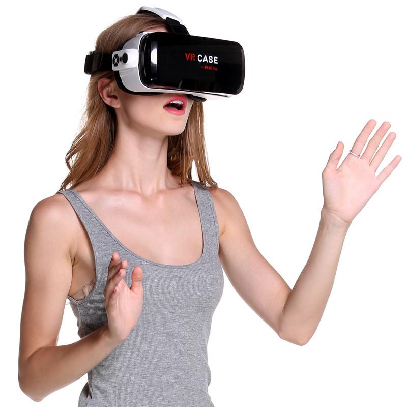 Prix pour Lunettes de Réalité virtuelle VR Boîte Rirtual Réalité Casque Tactile Fonction 3D Lunettes VR Portant Équipement