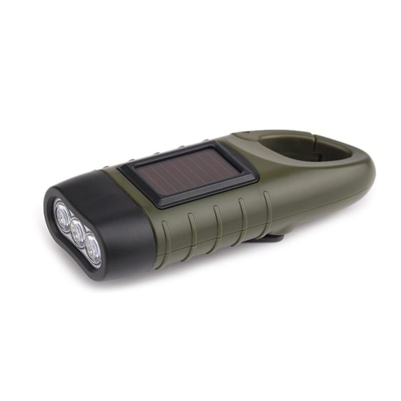 Achetez en gros solaire dynamo lampe de poche en ligne - Lampe de poche a manivelle ...