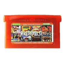 Nintendo GBA Игры EG011 29 в 1 Видеоигры Картридж Консоли Карты Сборников Collection Английский Язык