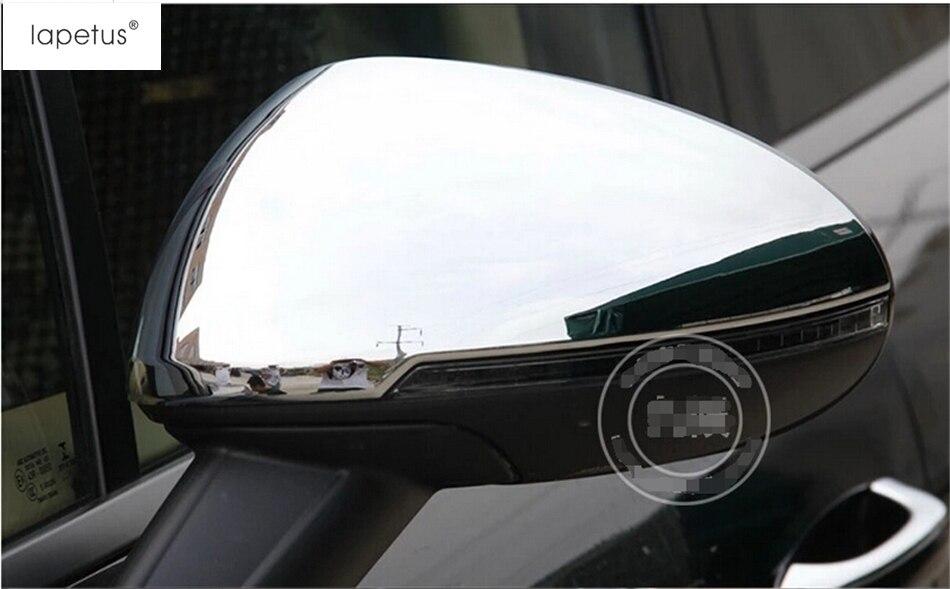 ABS! accessoires Pour Porsche Macan 2014-2017 Chrome Side Rétroviseur Protection Strip Moulage Couverture Kit Garniture 2 Pièce