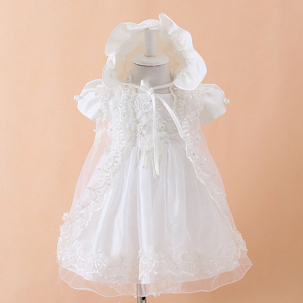 Baby dress First Communion baptism baby girl clothes kids Princess dresses for flower girls lace princess wedding party clothing toddler girl princess dress flower kids dresses for baby girls clothes dresses for party and wedding clothing 13 color choose