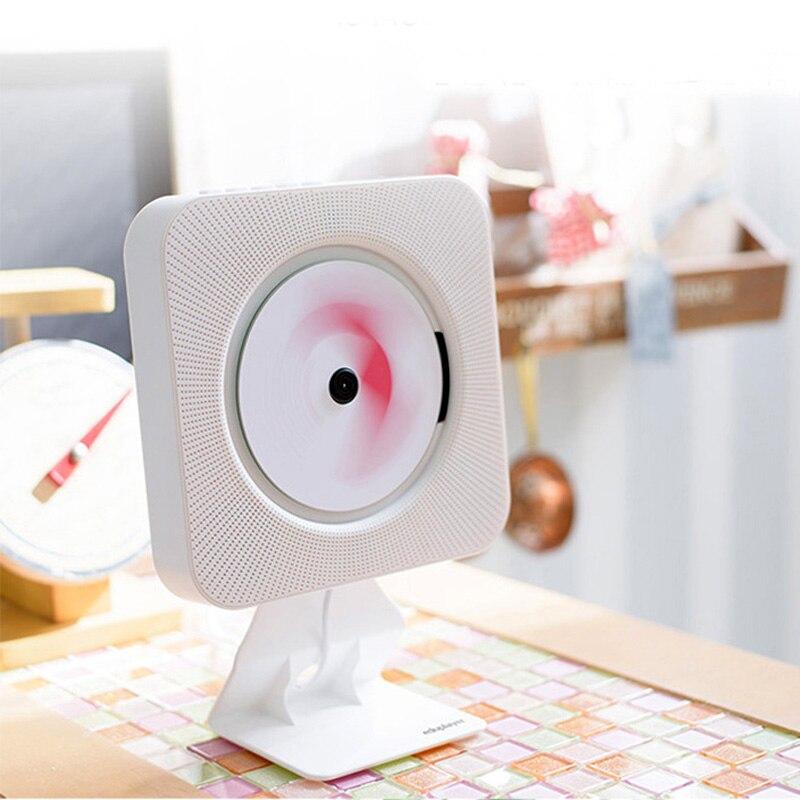bilder für Wand CD Player Portable Plattenspieler Hause FM Radio CD Audio Pränatale Bildung Frühen Lernen Englisch Bluetooth Lautsprecher