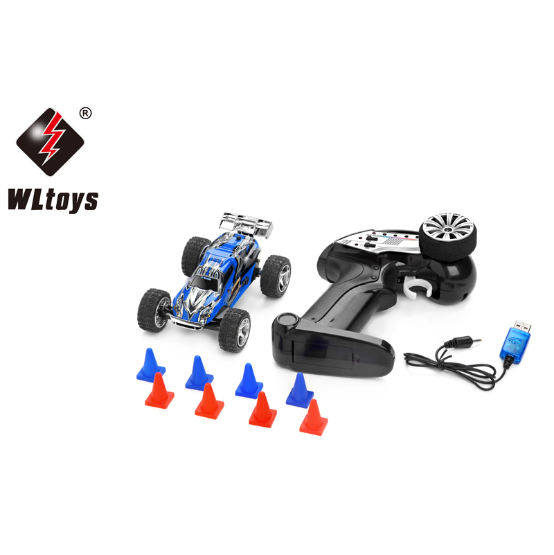 Wltoys Mini RC Car High Speed 5CH 2.4G Dirt Bike Model Radio Remote Control Vehicle Toy Road-Block For Children Toys Gift