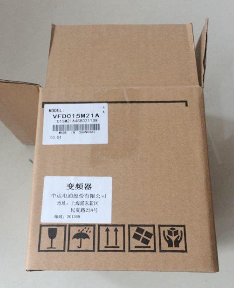 a0d069f00cbf VFD015M21A New Original Inverter 1500W New boxed VFD-M support DN-02 LN-01  PD-01