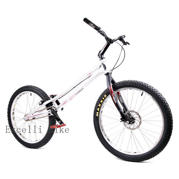 2015 Bow Wing Neon Bmx 24 Trial Bike Rear Cassette 108 Ring Neon
