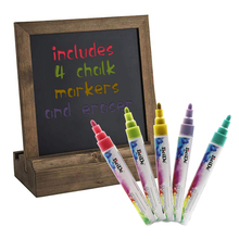 Arts liquid chalk markers Simply wipe No Odor or Chalkboard Stickers,