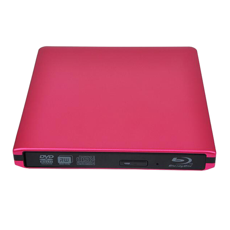 Bluray Player External DVD-RW Optical Drive USB3.0 External Blu-ray Drive BD/ DVD  ROM Player Writer for Apple Macbook Laptop usb ide laptop notebook cd dvd rw burner rom drive external case enclosure no17