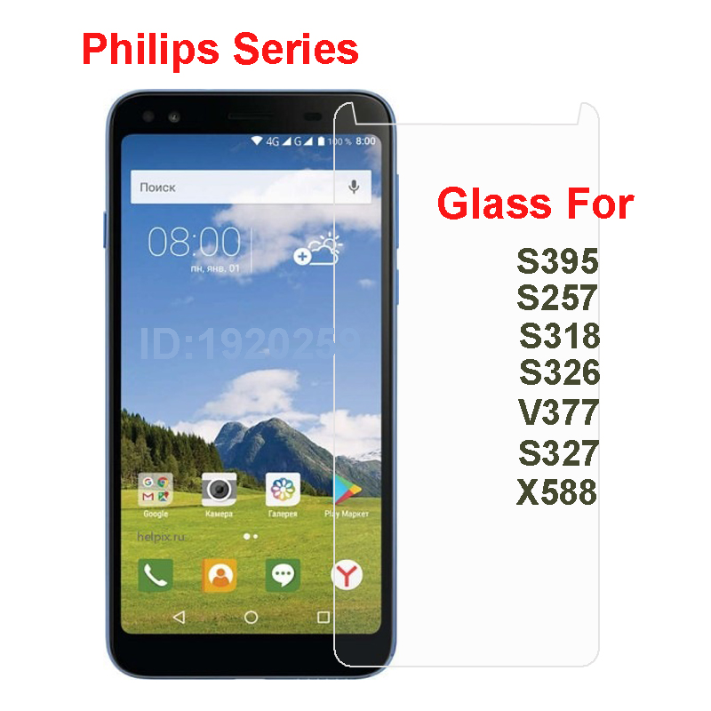 For <font><b>Philips</b></font> X588 S327 V377 <font><b>S326</b></font> S318 S561 Tempered Glass Protective Film Explosion-proof <font><b>Screen</b></font> Protector For <font><b>Philips</b></font> S395 S561 image