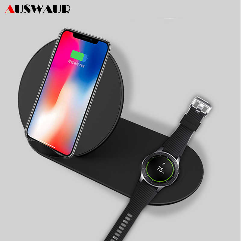 super popular 1abd1 01742 Detail Feedback Questions about 2 In 1 QI Wireless Charger for ...