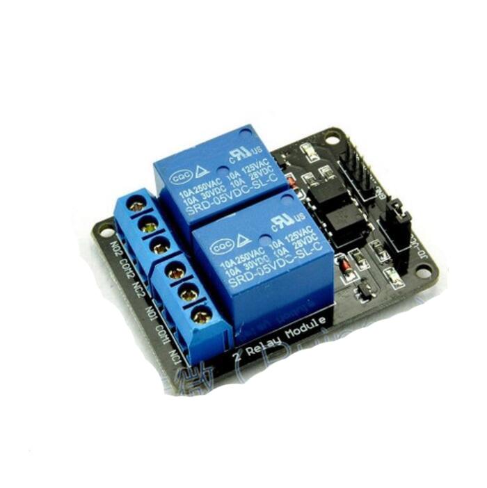 5V 2-Channel NO/NC Relay Module Shield Raspberry SRD-05VDC-SL-C relay shield v2 0 5v 4 channel relay module